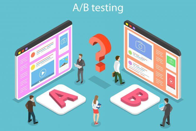 A/B testing for optimization
