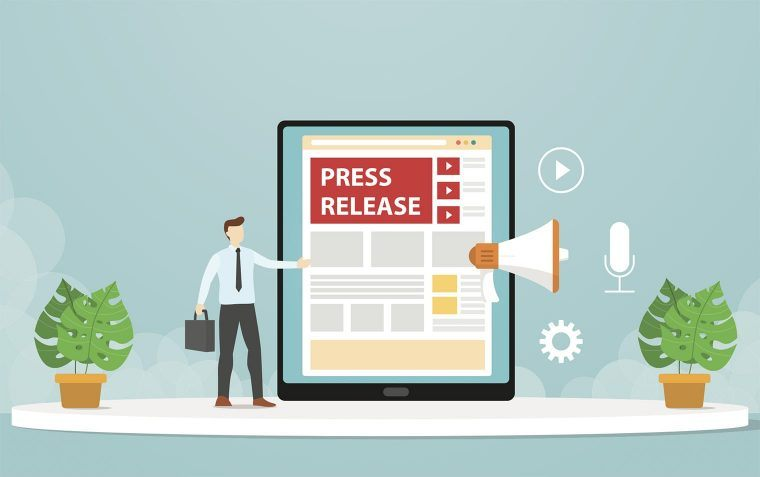 create and distribute Press Release about your app