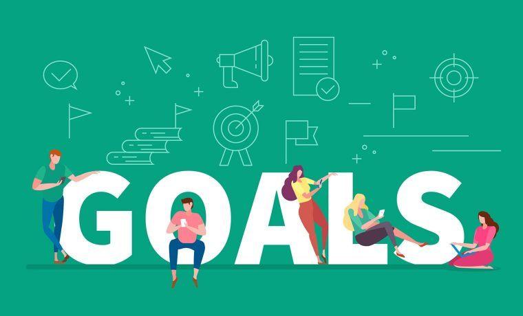 set goals before the mobile app design process starts