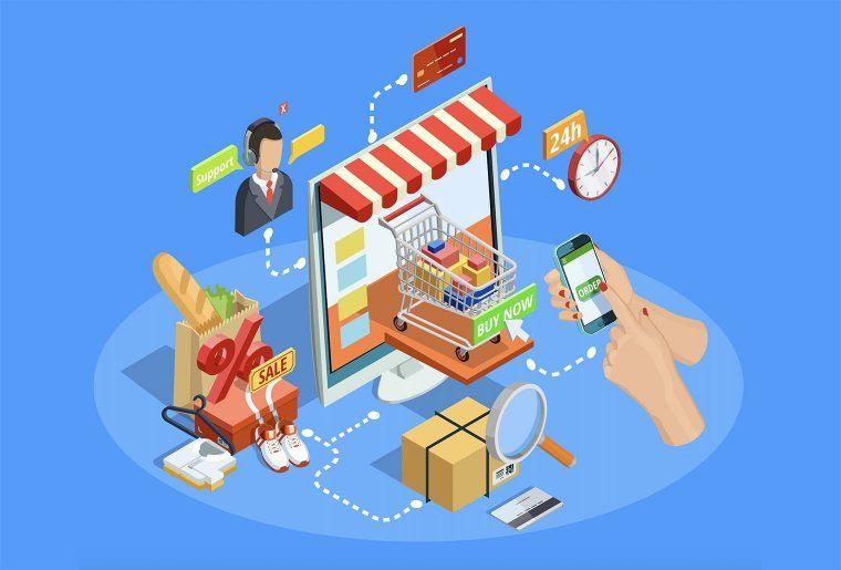 describing eCommerce concept