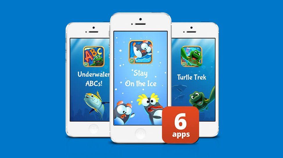 SeaWorld's educational apps