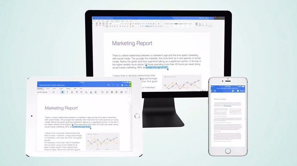 Marketing services for Polaris Office app
