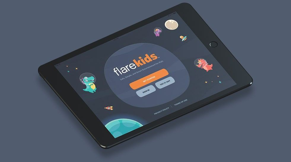 Marketing services for Flare Kids