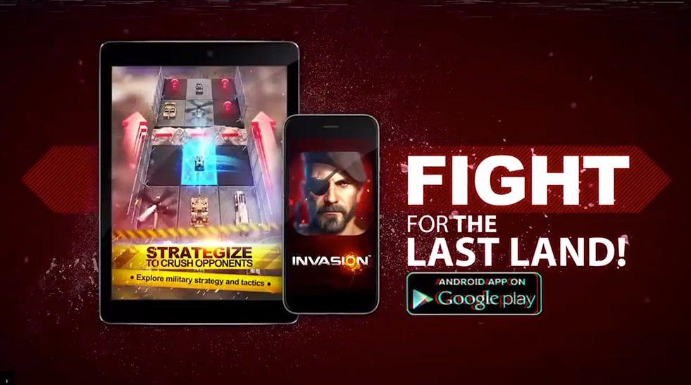 Promo campaign for Invasion Modern Empire app