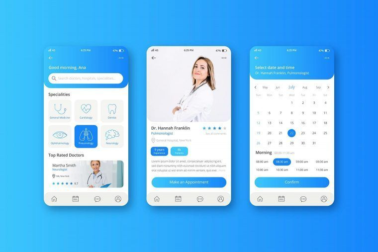 digital marketing services for your healthcare app