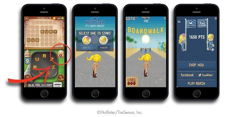 playable in-app ads examples