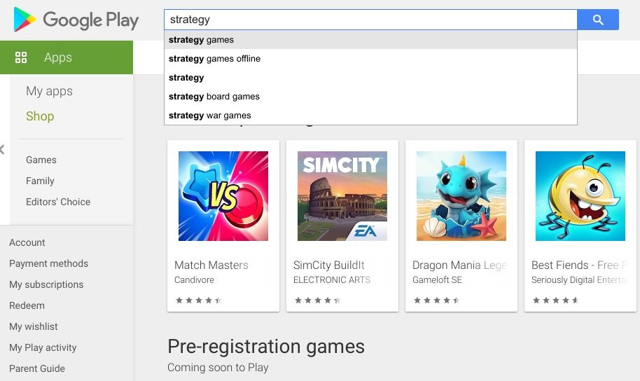 mobile app SEO optimization on Google Play