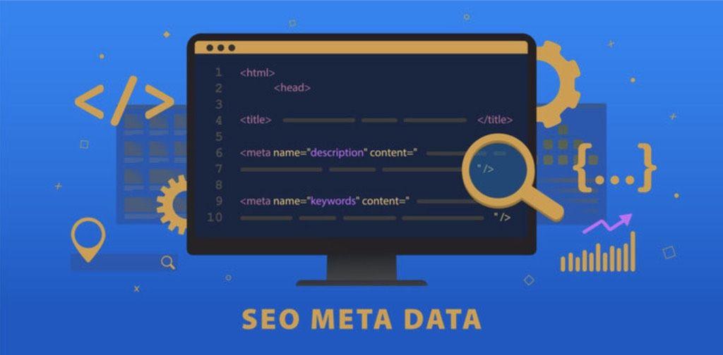 SEO meta data for mobile app website