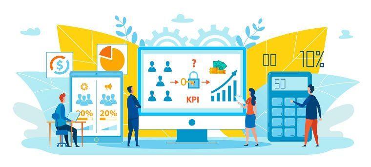 check mobile app analytics to reach KPIs